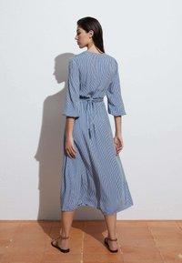 OYSHO - GINGHAM - Day dress - blue - 1