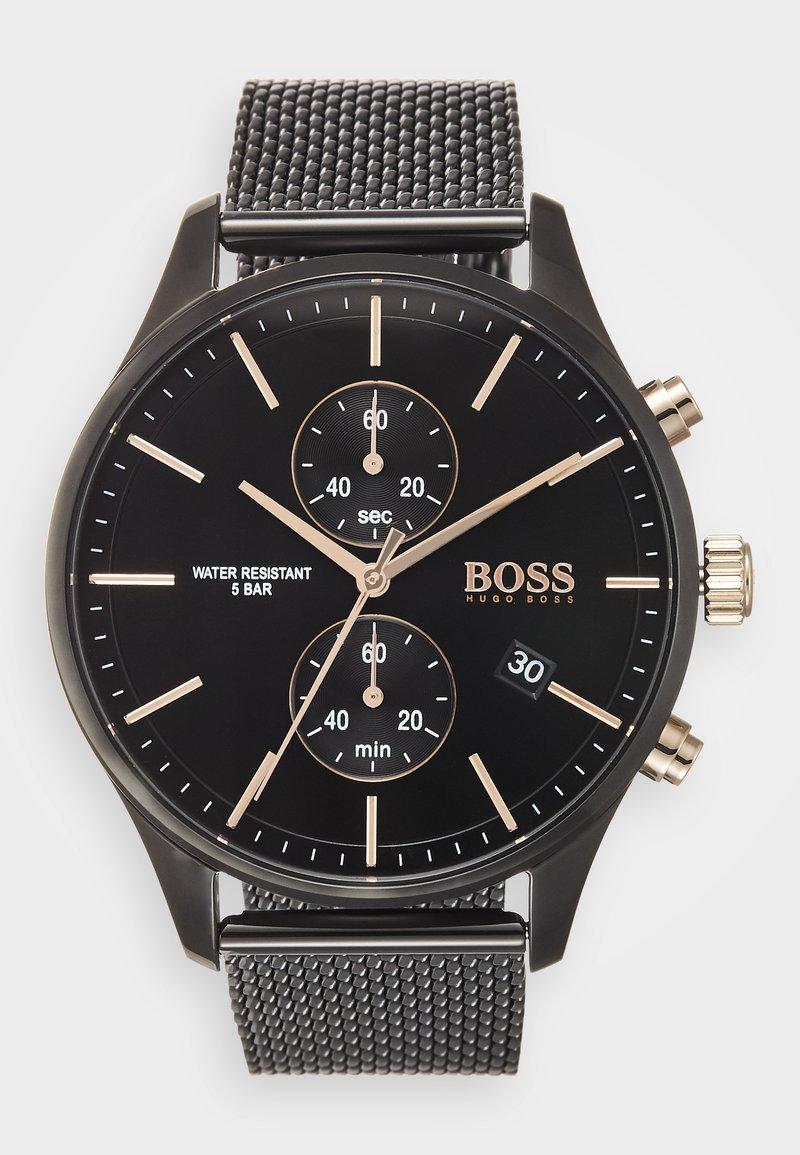 BOSS - ASSOCIATE - Chronograph watch - schwarz