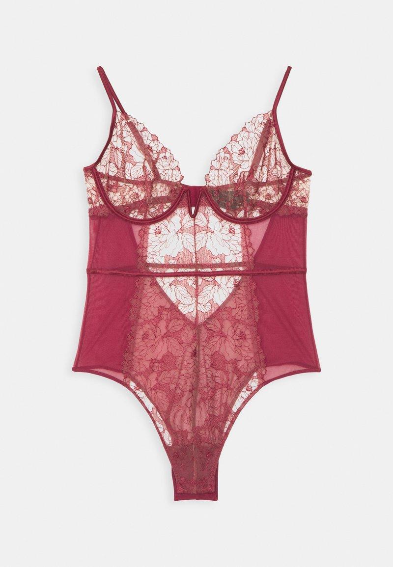 Women Secret - NEW EMBO CERISE - Body - red