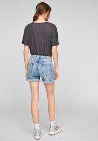 QS by s.Oliver - Denim shorts - light blue - 2
