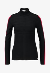 Morgan - MENTOI - Sweter - noir/rouge - 3