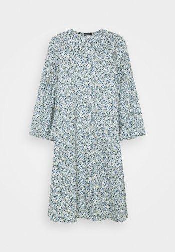 SLFROMAN  - Day dress - white/blue flower