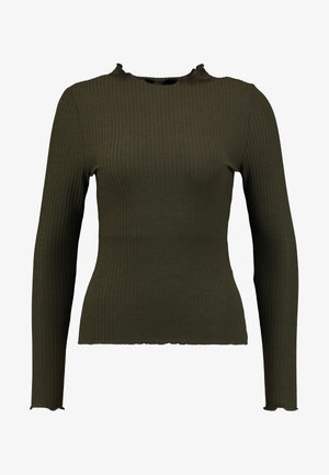 ONLEMMA HIGH NECK - Long sleeved top - forest night