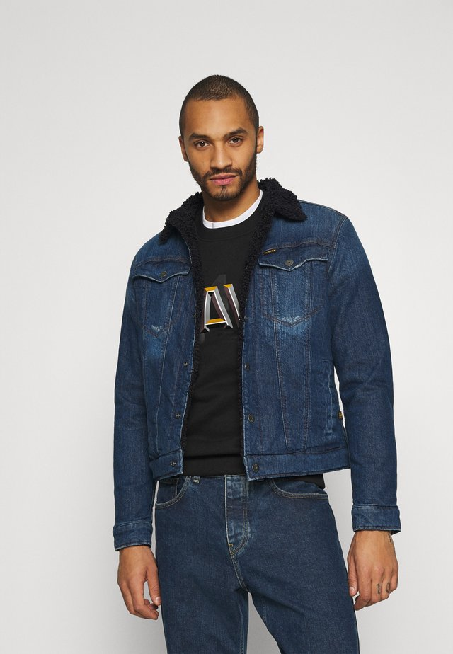 3301 SLIM - Denim jacket - denim medium aged