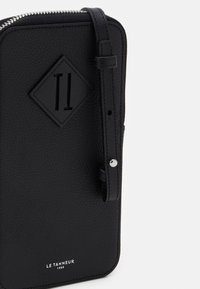 Le Tanneur - NATHAN ZIPPED PHONE HOLDER - Phone case - noir - 3