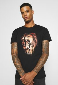 CLOSURE London - LION - Print T-shirt - black - 3