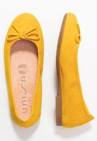 Unisa - CRESY - Ballet pumps - limone - 0