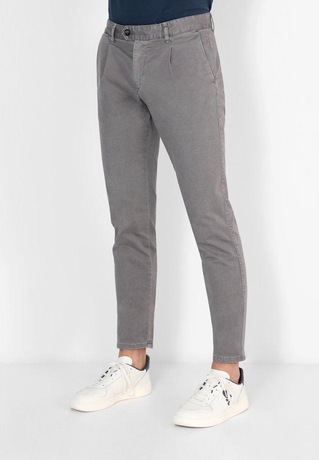 FIRENZE  - Pantalones chinos - medium grey