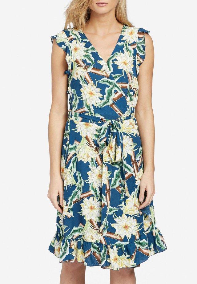 EMERY - Korte jurk - blue