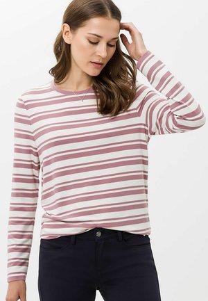 STYLE CARA - Long sleeved top - rosewood