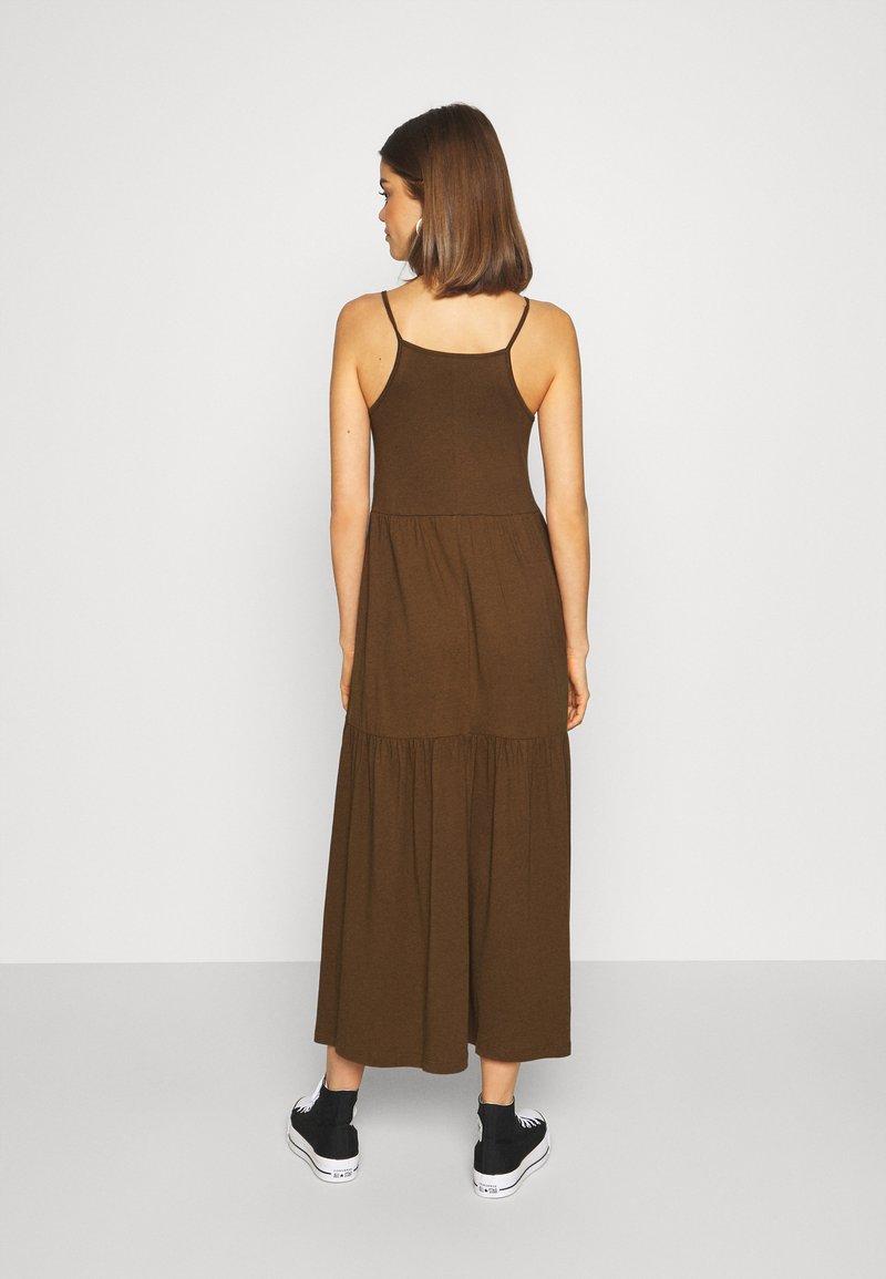 Zign Jerseykleid - dark brown/dunkelbraun bdaMqU