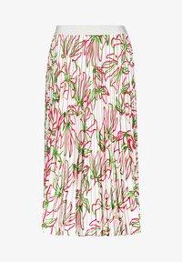 Gerry Weber - MIT FLORALEM - A-line skirt - weiß azalea palm druck - 3