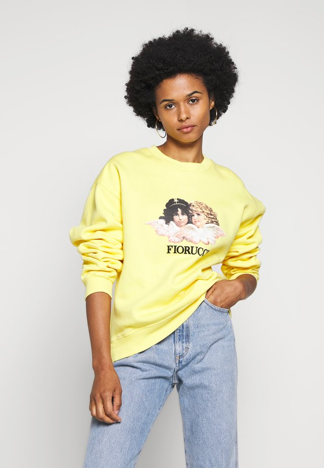VINTAGE ANGELS - Sweatshirt - yellow