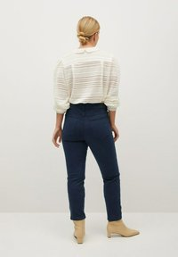 Violeta by Mango - JULIE - Slim fit jeans - donkermarine - 2
