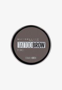 Maybelline New York - TATTOO BROW POMADE - Eyebrow powder - 004 ash brown - 0