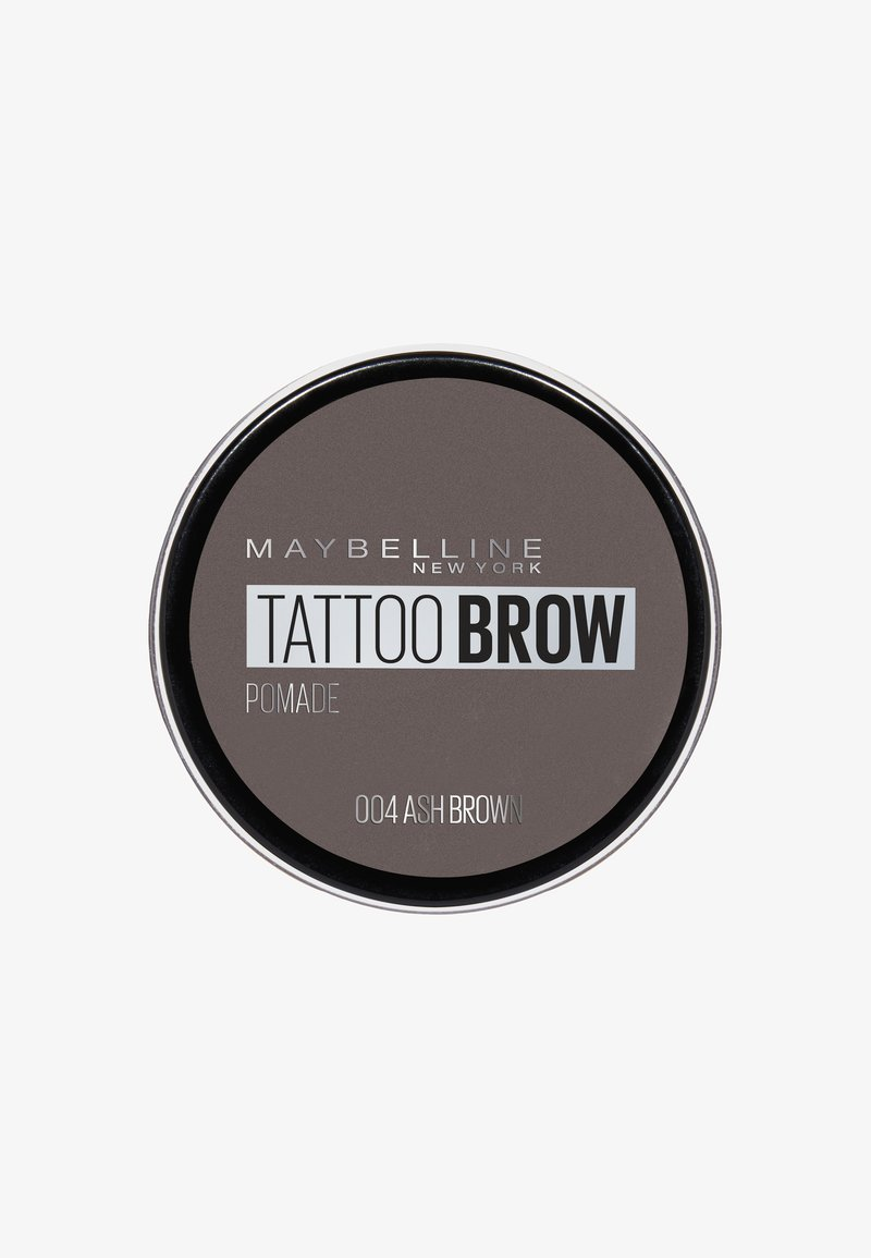 Maybelline New York - TATTOO BROW POMADE - Eyebrow powder - 004 ash brown