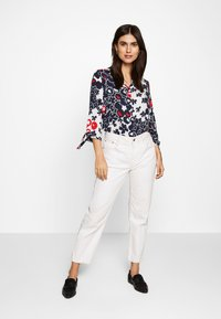 Barbara Lebek - Button-down blouse - navy/red/offwhite - 1