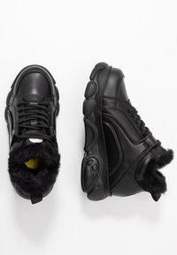 Buffalo - CORIN - High-top trainers - black - 3