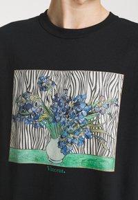 Vintage Supply - VINCENT ART PRINT TEE - Print T-shirt - black - 5