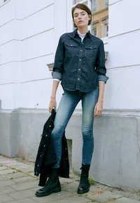 G-Star - WESTERN RELAXED  - Button-down blouse - raw denim - 5