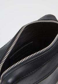 Pier One - LEATHER - Across body bag - black - 4