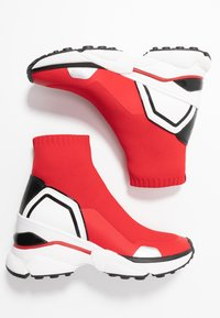MICHAEL Michael Kors - High-top trainers - bright red - 3