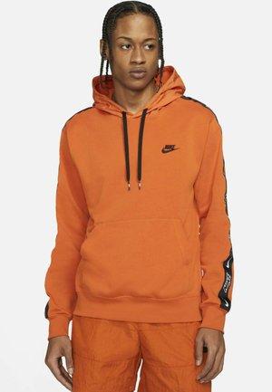 Hoodie - campfire orange/campfire orange/black/black