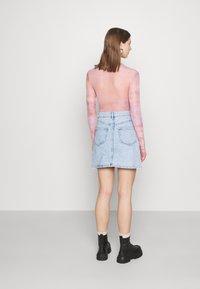 Monki - Mini skirt - light blue - 2