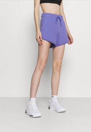 MODERN BASICS HIGH WAIST - Pantalón corto de deporte - hazy blue
