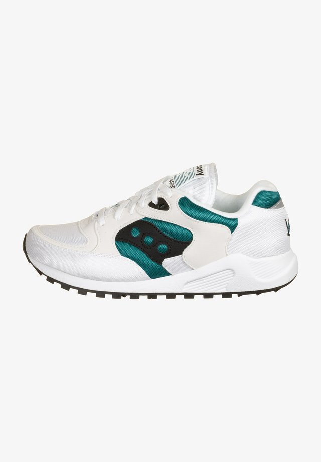 JAZZ 4000 - Sneakers laag - white/teal/black