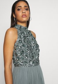 Lace & Beads - GUI MAXI - Suknia balowa - teal - 3