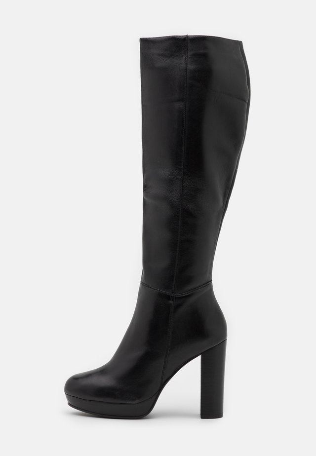 JAMILA - High heeled boots - black