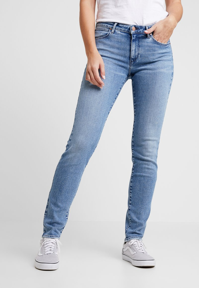 Wrangler - Slim fit jeans - ash cloud