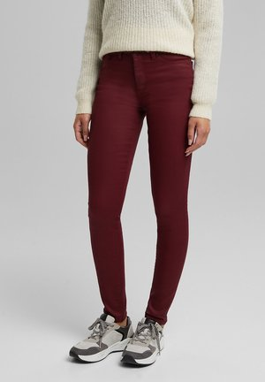 Jeans Skinny Fit - bordeaux red