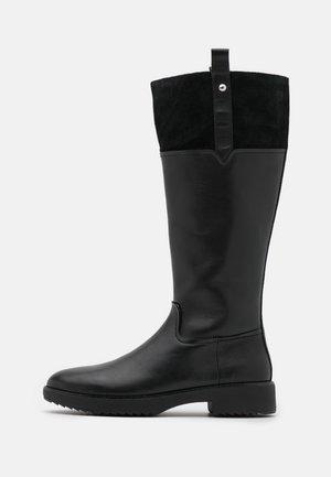 SIGNEY KNEE HIGH BOOTS - Klassiska stövlar - all black