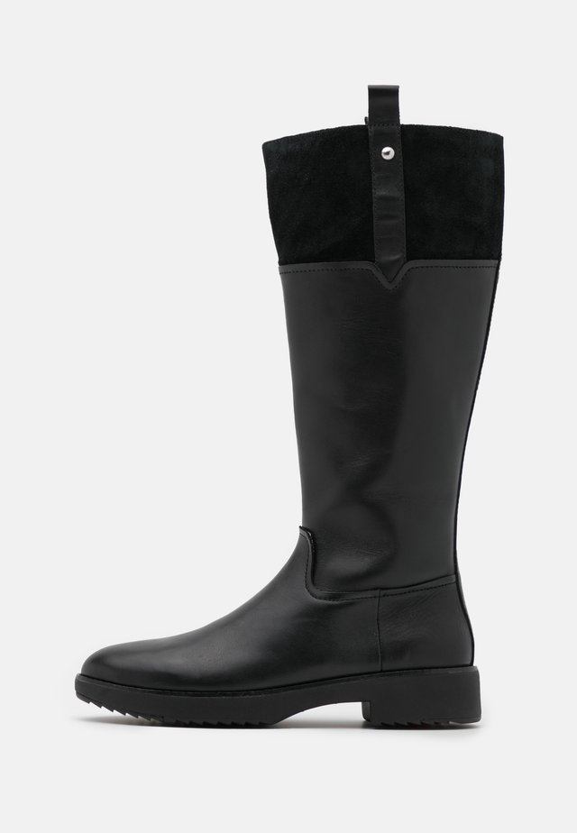 SIGNEY KNEE HIGH BOOTS - Støvler - all black