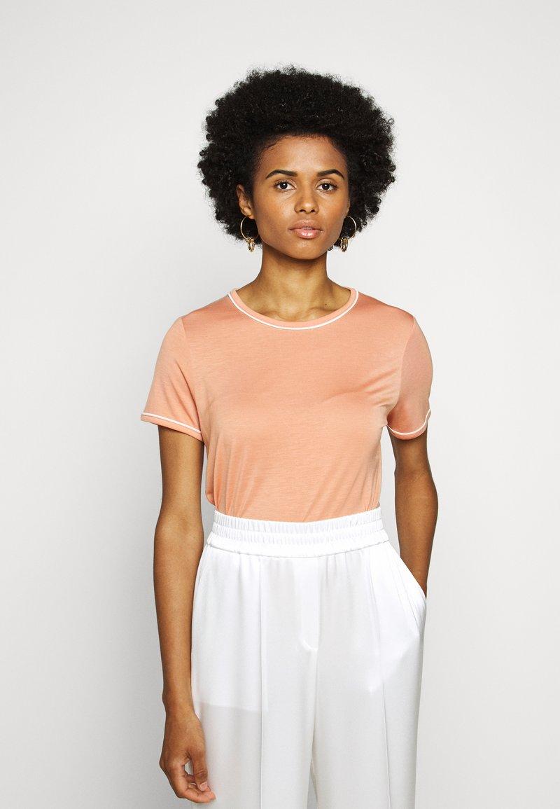 Bruuns Bazaar - KATKA ALICIA TEE - T-shirt basique - coral