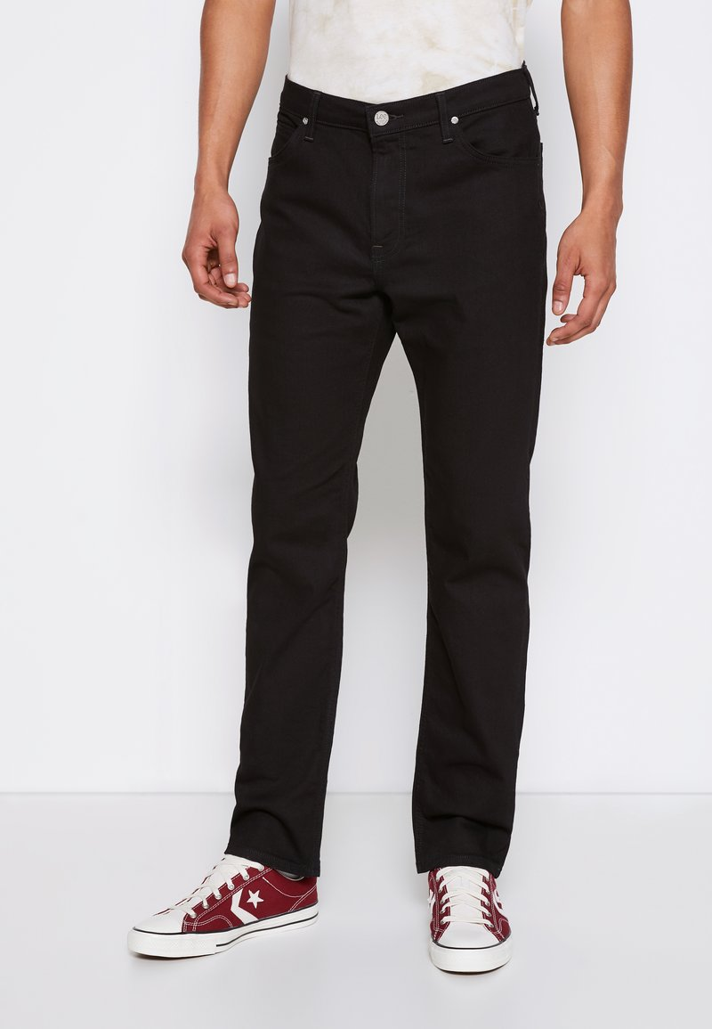 Lee - WEST - Jeans a sigaretta - clean black