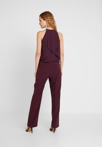 s.Oliver BLACK LABEL - OVERALL - Jumpsuit - soul cherry - 2