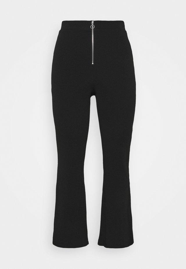 VMSILCO PANT - Spodnie materiałowe - black