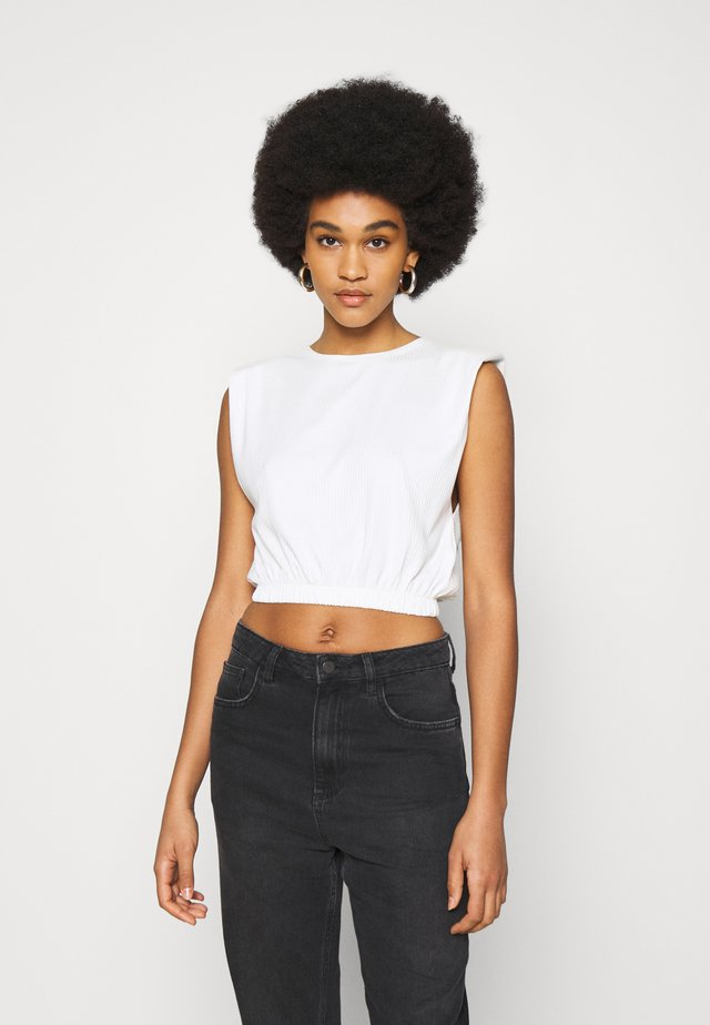 PAD TANK - Top - off white