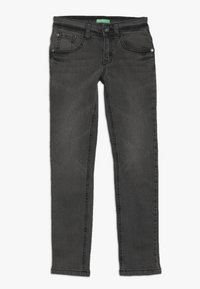 Benetton - TROUSERS - Jeansy Slim Fit - dark grey - 0