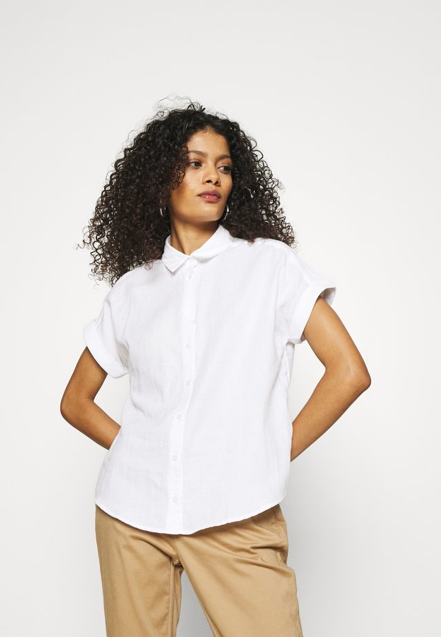 RESORT COLLAR - Camicetta - white