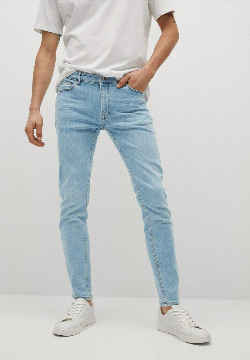 Mango - JUDE - Jeans Skinny Fit - light blue