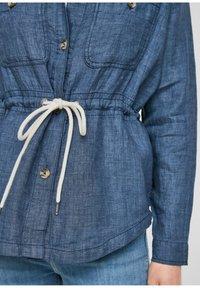 s.Oliver - Denim jacket - mottled dark blue - 3
