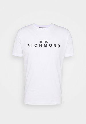 ESCORIAL - Print T-shirt - white