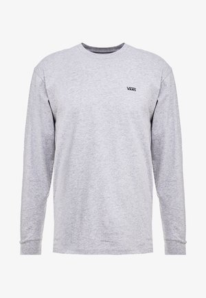 MN LEFT CHEST HIT LS - Long sleeved top - athletic heather black