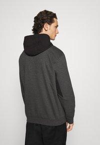 adidas Originals - FIELD HOODY - Hoodie - dark grey - 2