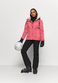 Brunotti - TESSA WOMEN SNOWJACKET - Snowboard jacket - pink grape - 1