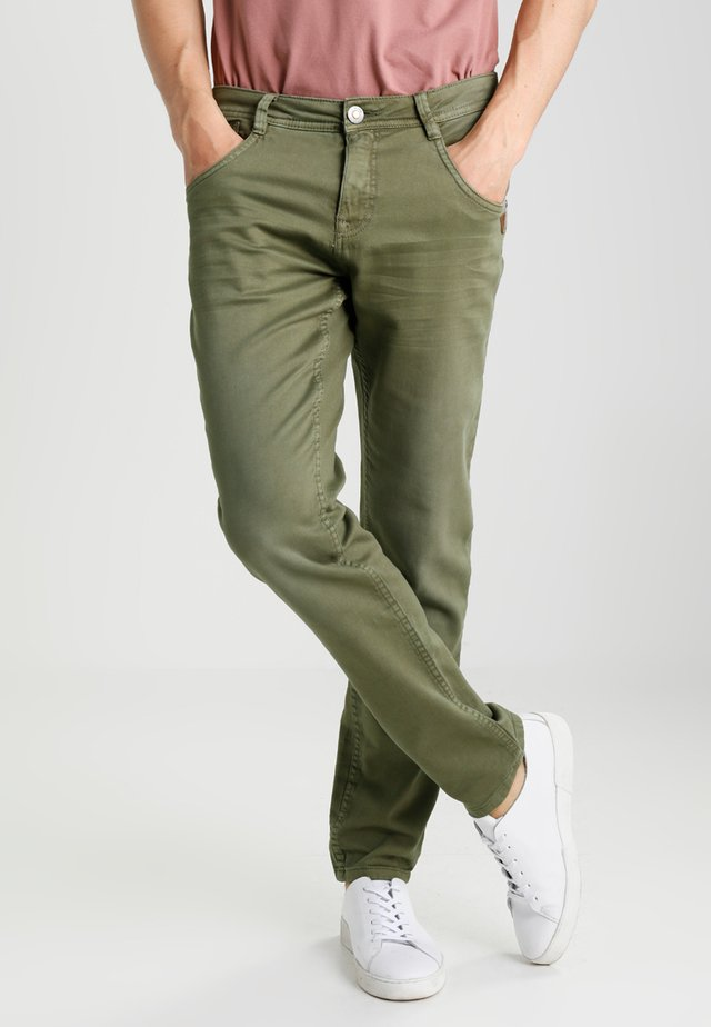 PRINZE - Trousers - olive